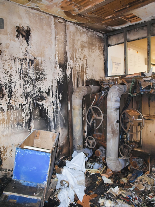 Fire hazard and inspection. Laundry chute solutions, including refuse chutes.